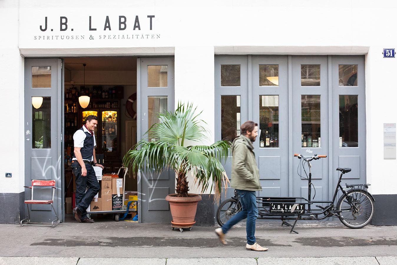 JB Labat in Zurich