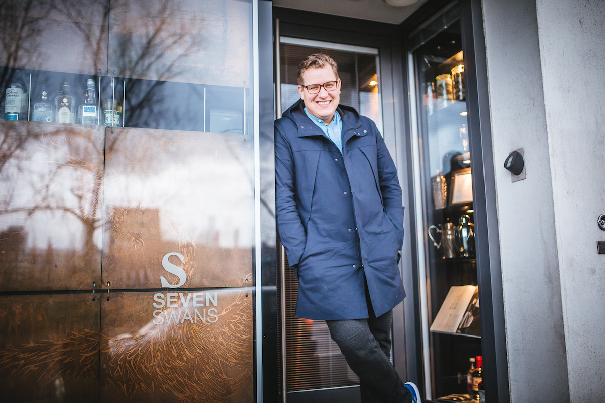 Sven Riebel at Seven Swans & The Tiny Cup in Frankfurt