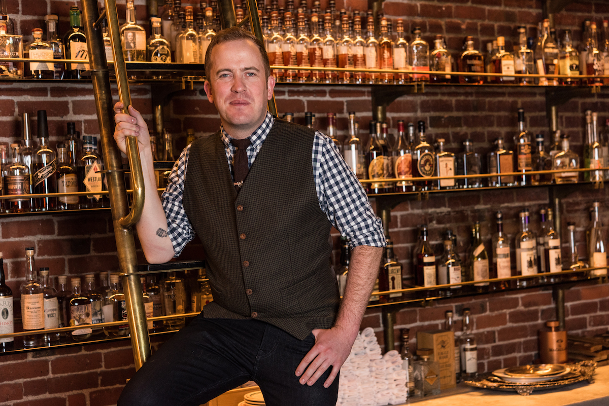 Kyle Sanders - Multnomah Whiskey Library found at The Pouring Tales 3