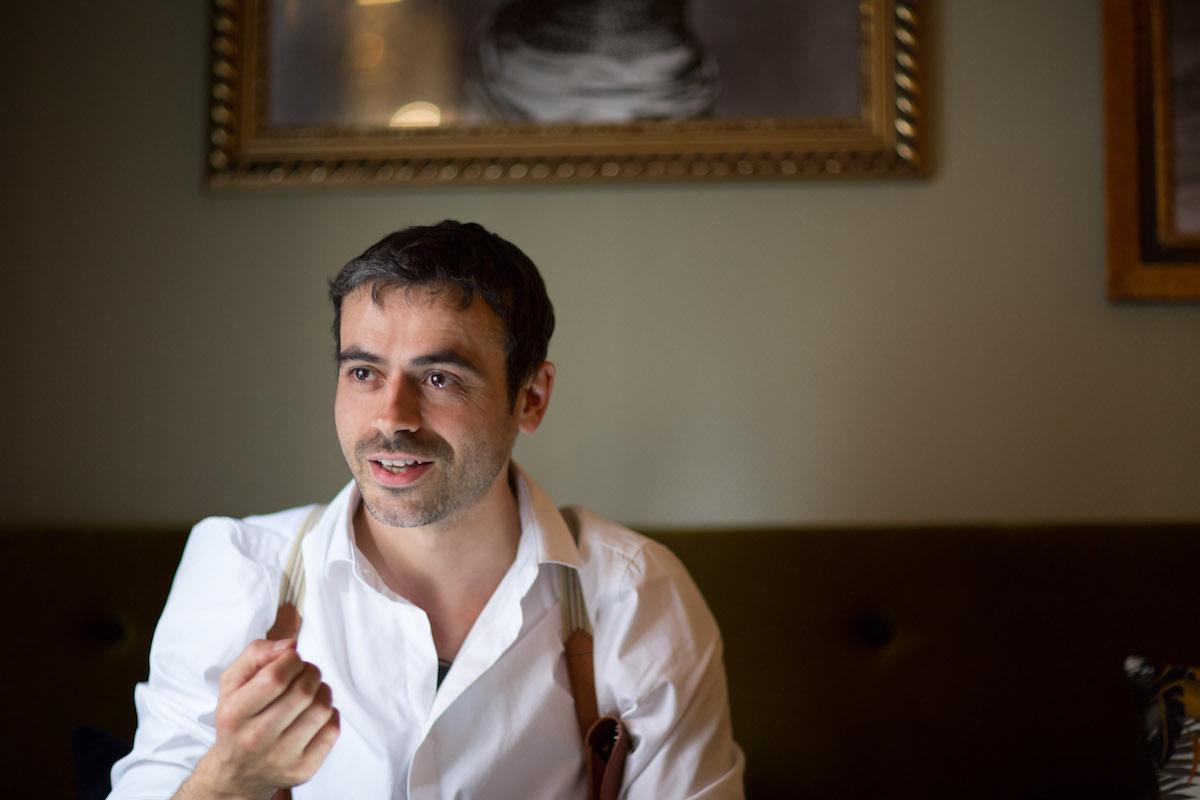 Humberto Saravia Marques at Curfew in Copenhagen