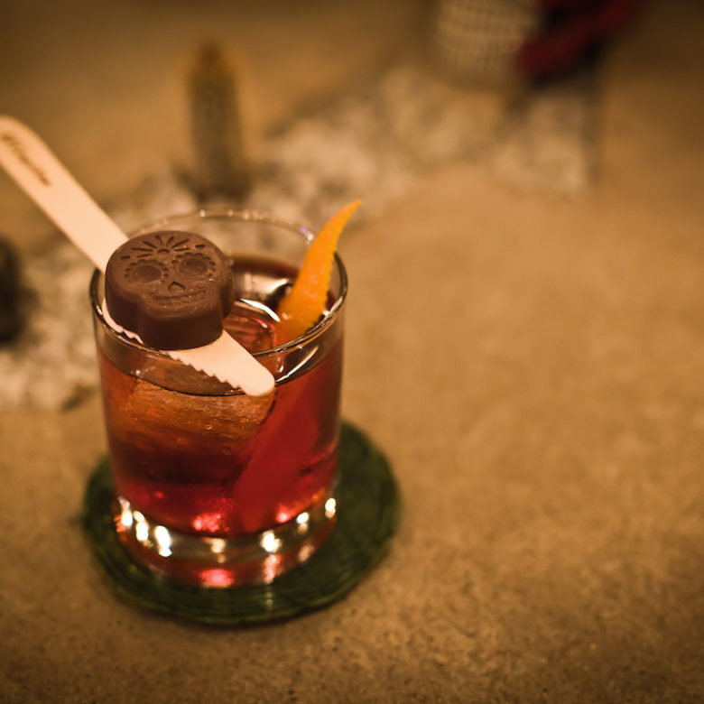 Aztec Negroni by Nikolay Kiselev found at The Pouring Tales